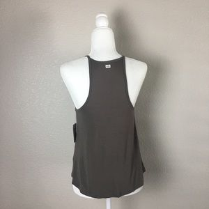 Volcom Tops - Volcom Taupe Lived In High Neck Tank Top